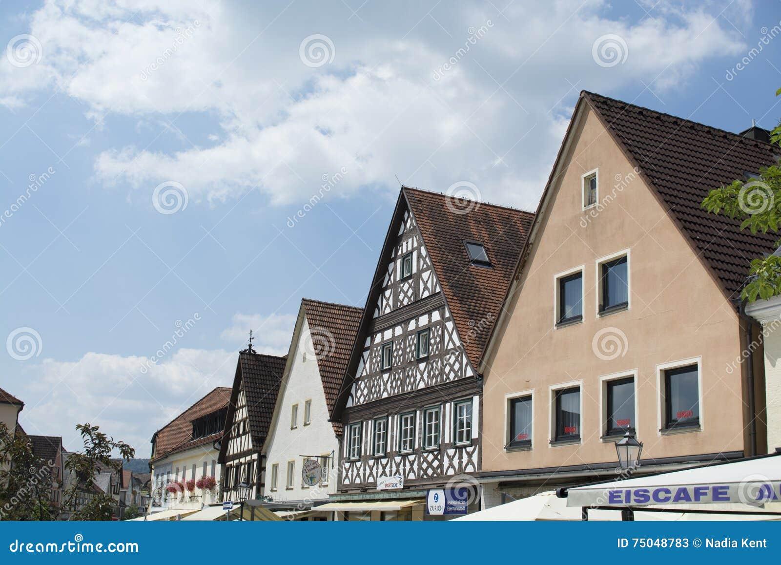 Tudor stilhus - ursnygg egenskap i hjärtan av Tyskland