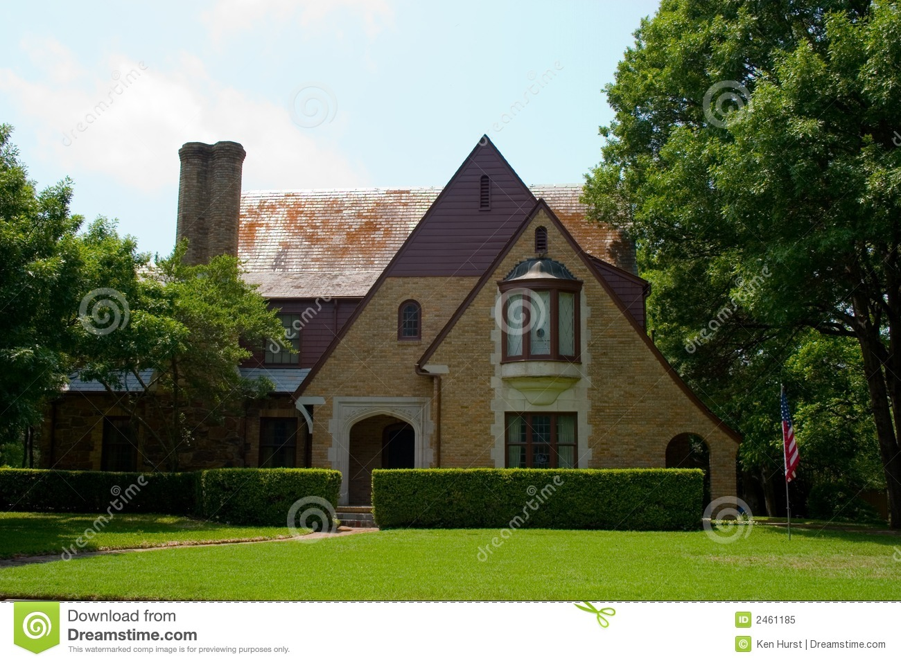 Tudor Style House Royalty Free Stock Photo Image 2461185