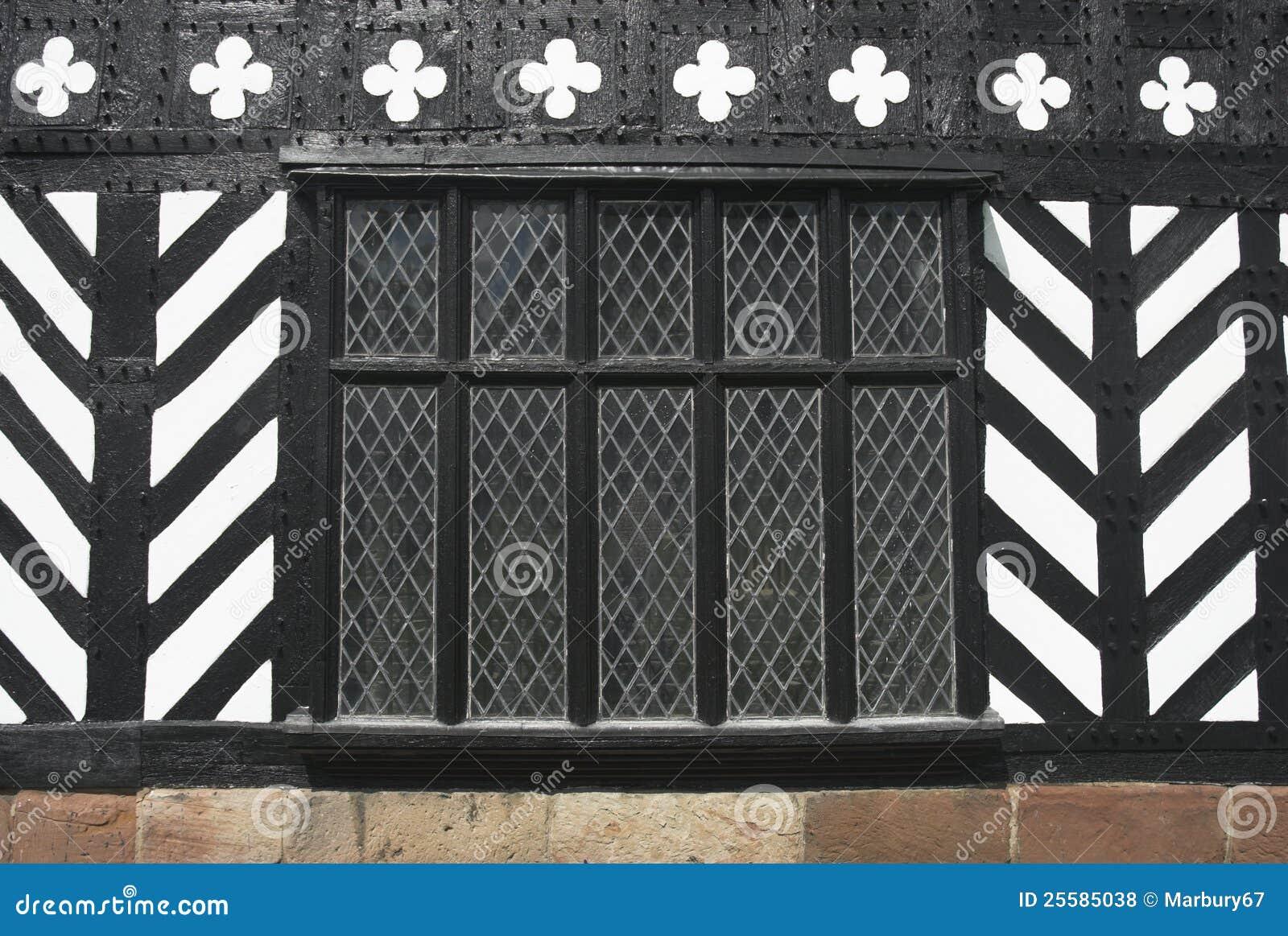 Tudor Windows tudor window stock photo - image: 64708706