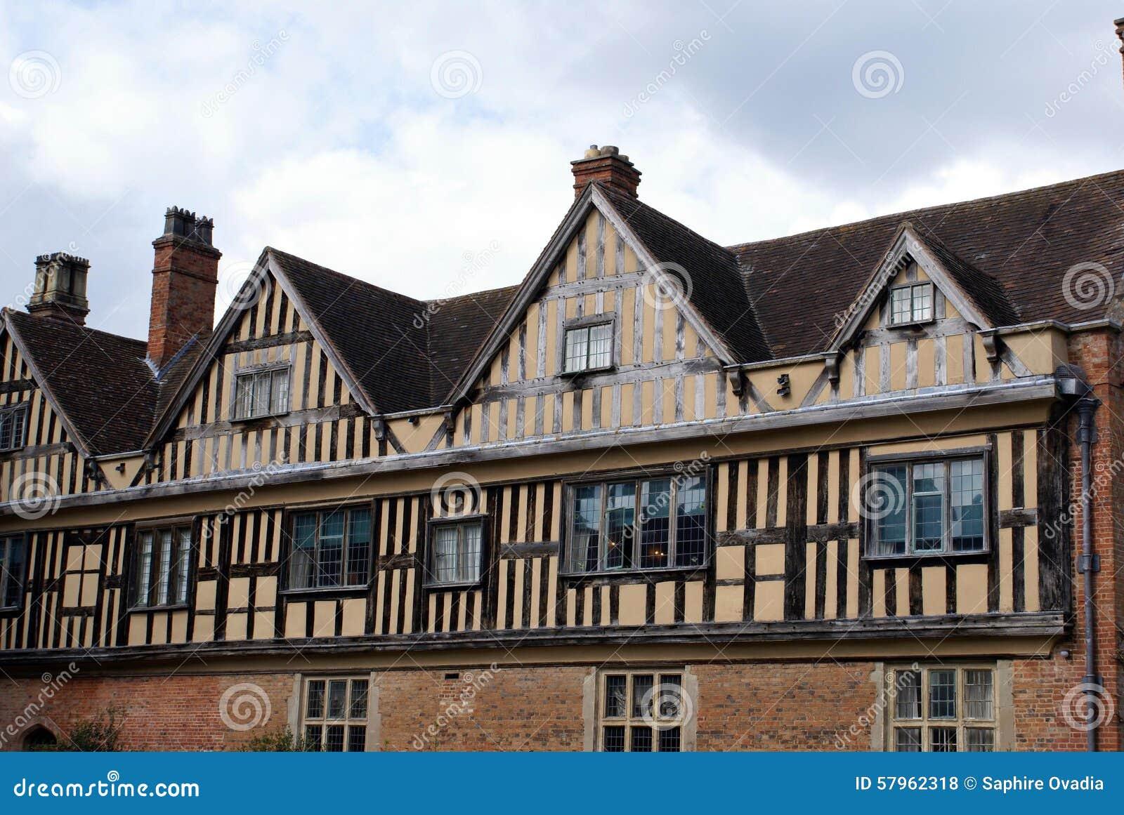 Tudor Windows tudor windows stock photo - image: 57962318