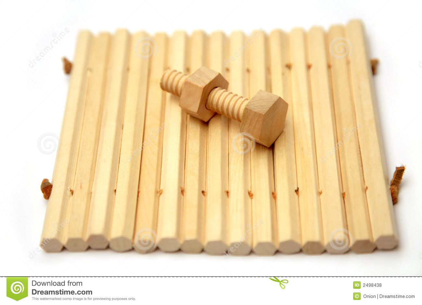 Tuerca y tornillo de madera fotos de archivo libres de - Tornillo para madera ...