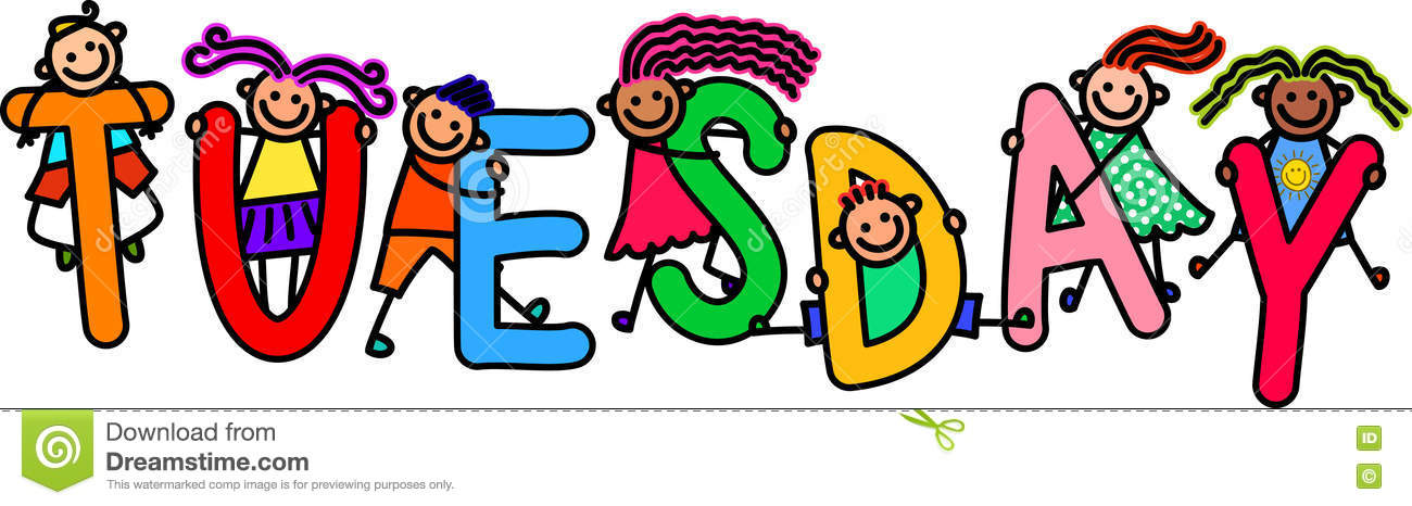 Tuesday Kids Stock Illustrations – 183 Tuesday Kids Stock Illustrations,  Vectors & Clipart - Dreamstime