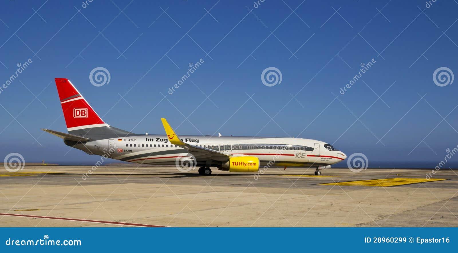 TUI komarnica Zug Zum Flug, Boeing 737-800