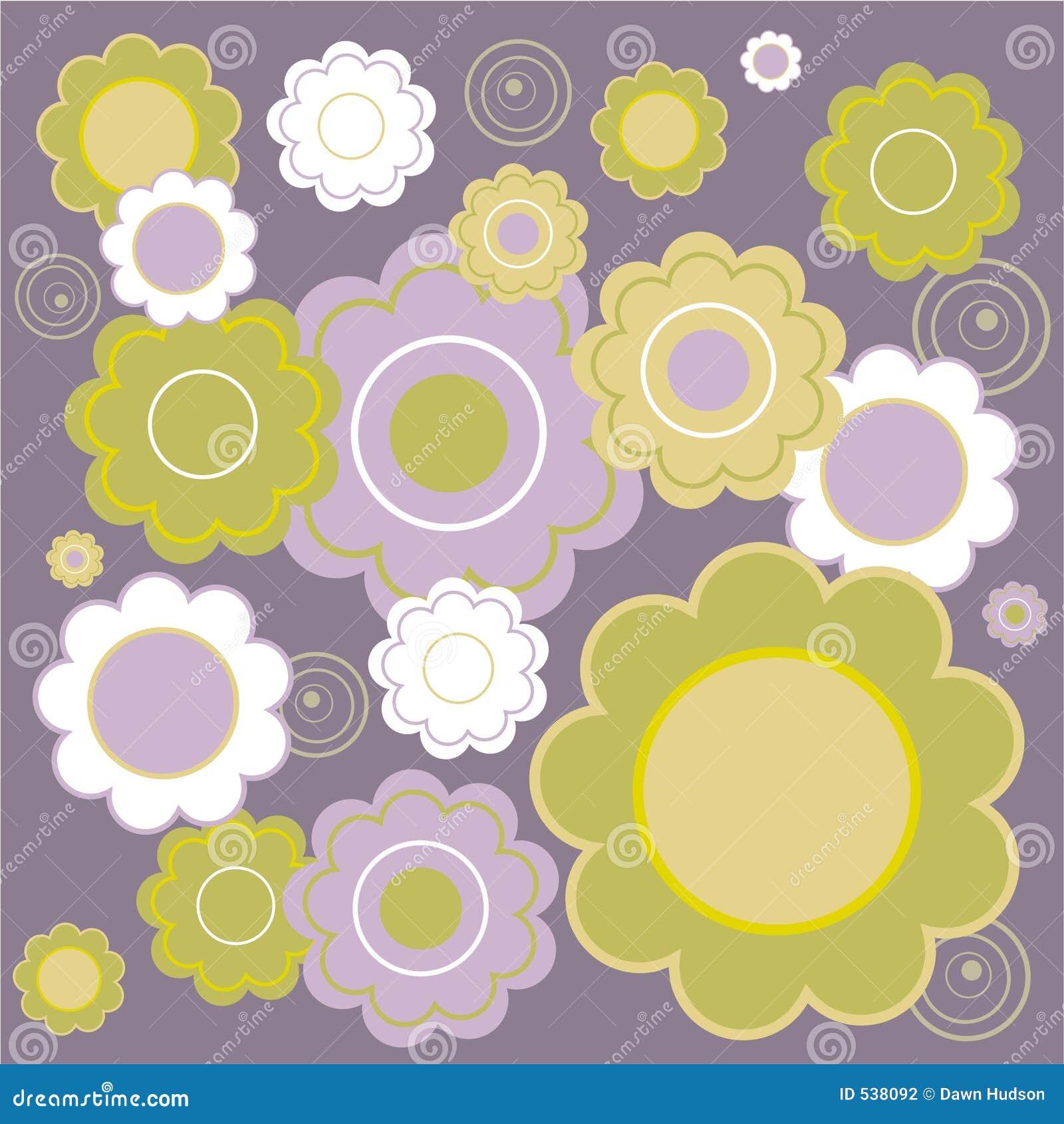 Tuile florale