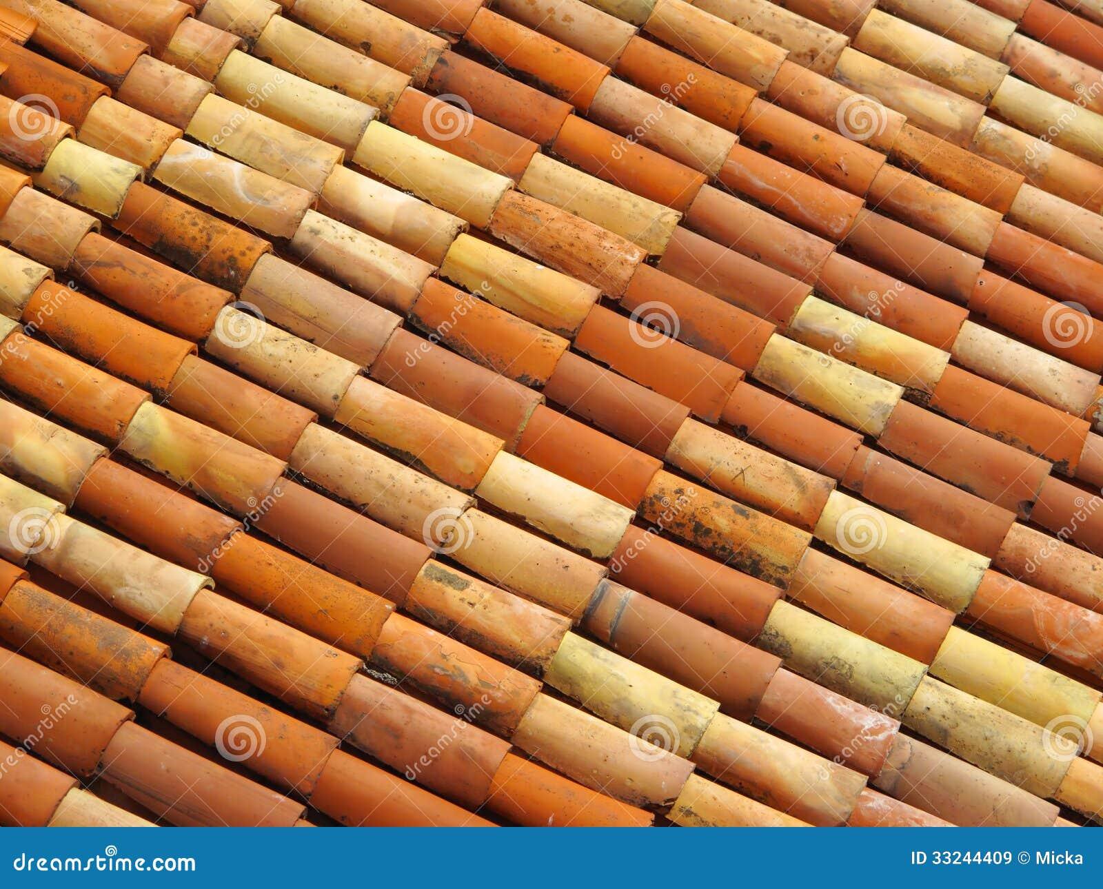 tuiles de toit dans diff rentes couleurs images libres de