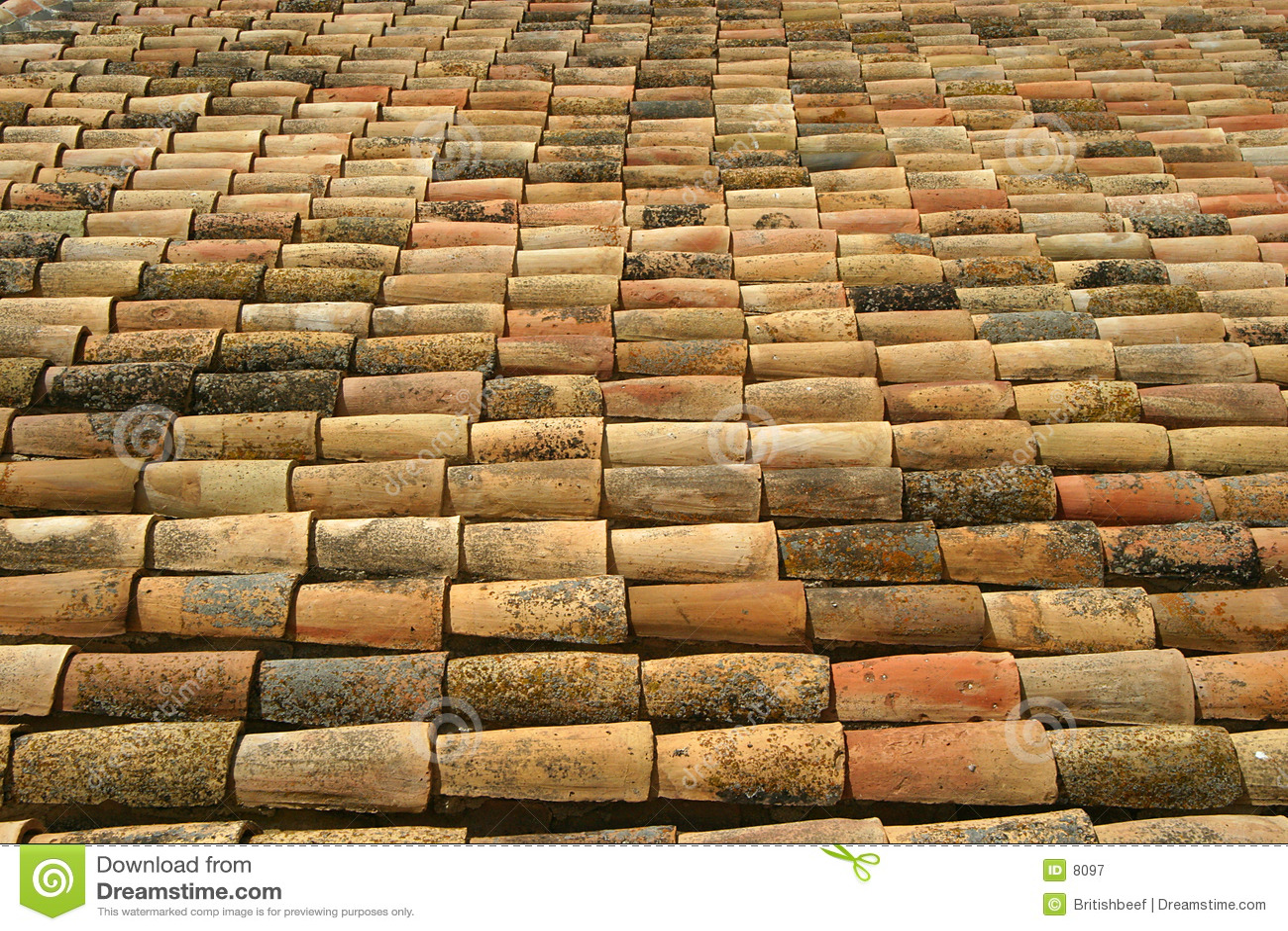 Tuiles de toit espagnoles