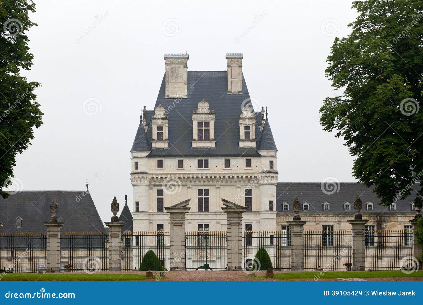 Tuin en Kasteel van Valencay in de Loire-Vallei
