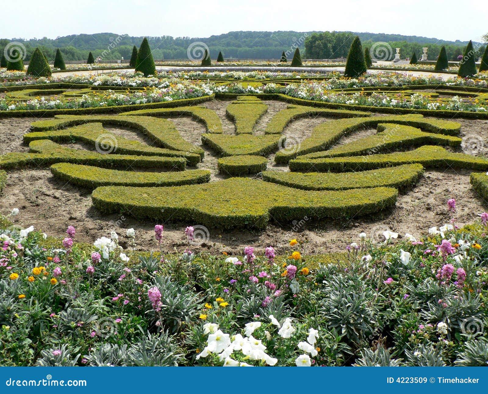 Tuinen Van Versailles Stock Afbeelding Afbeelding Bestaande Uit