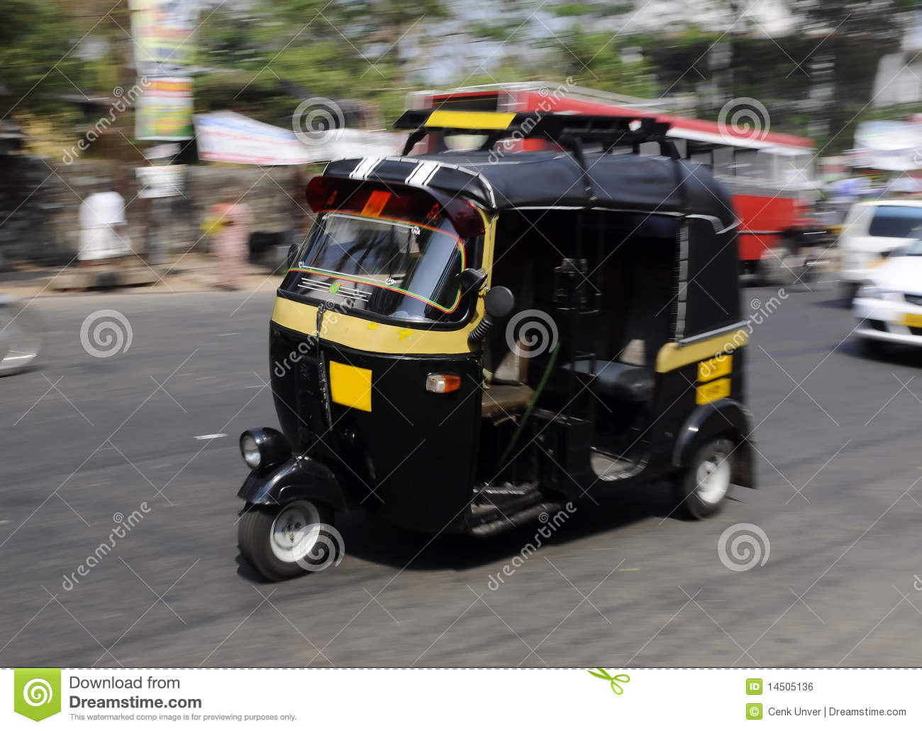 tuk tuk from india stock photo image of india street 14505136. Black Bedroom Furniture Sets. Home Design Ideas