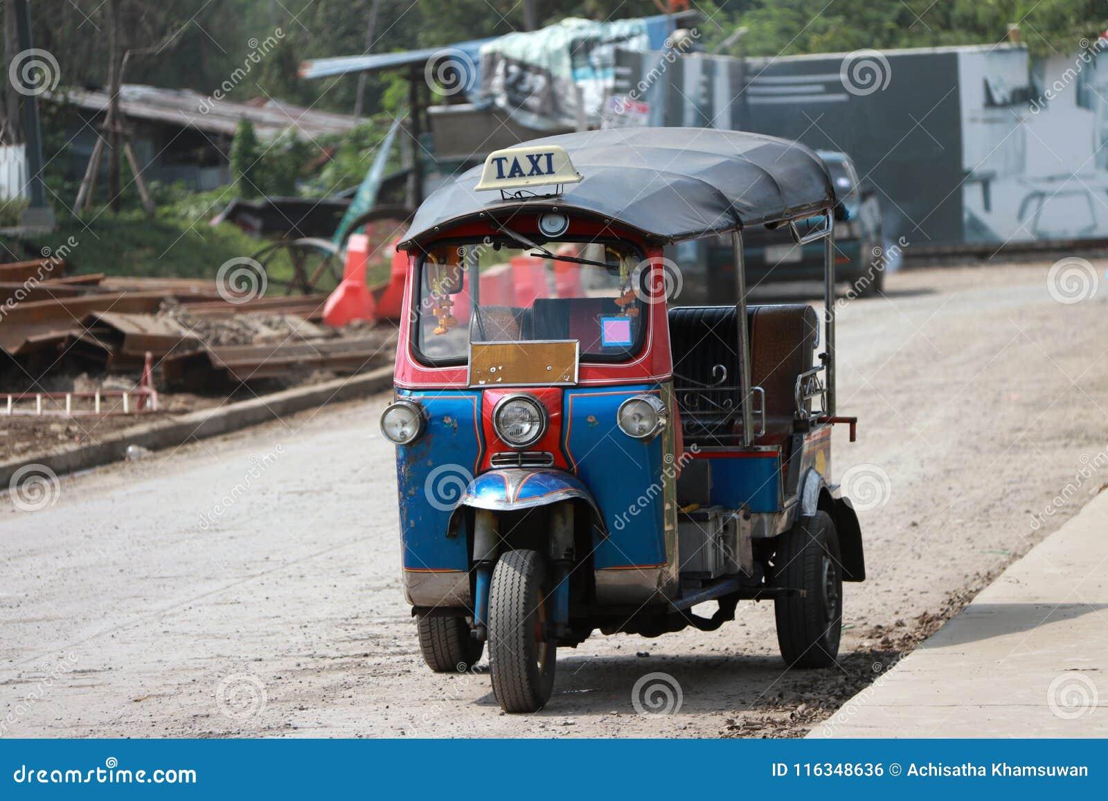 Tuk Tuk is a three-wheeled motorized vehicle used as a taxi