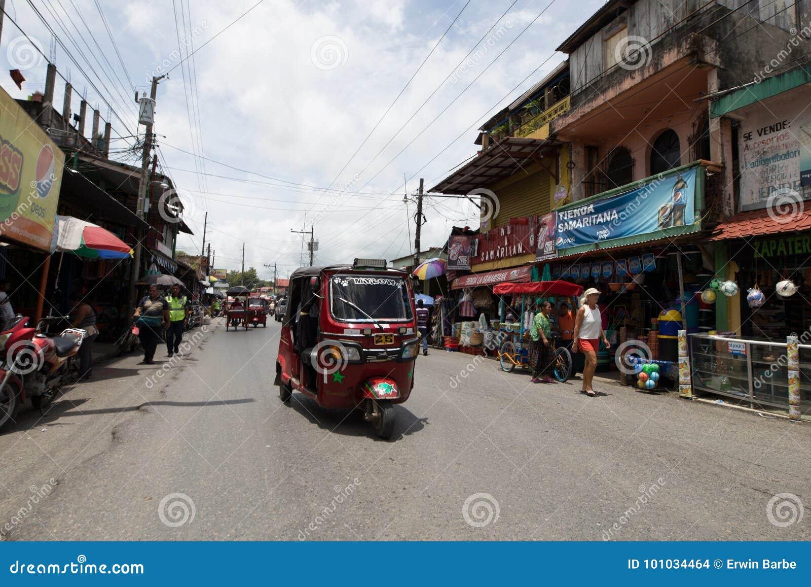 Tuktuk in Guatemala
