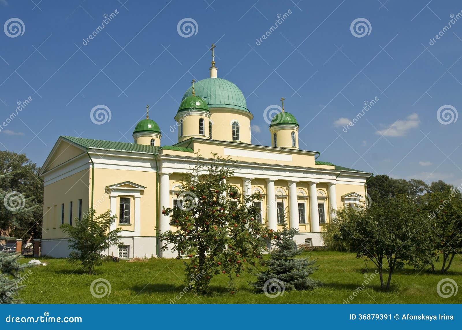 Download Tula, Cattedrale Di Trasfigurazione Immagine Stock - Immagine di russia, costruzione: 36879391