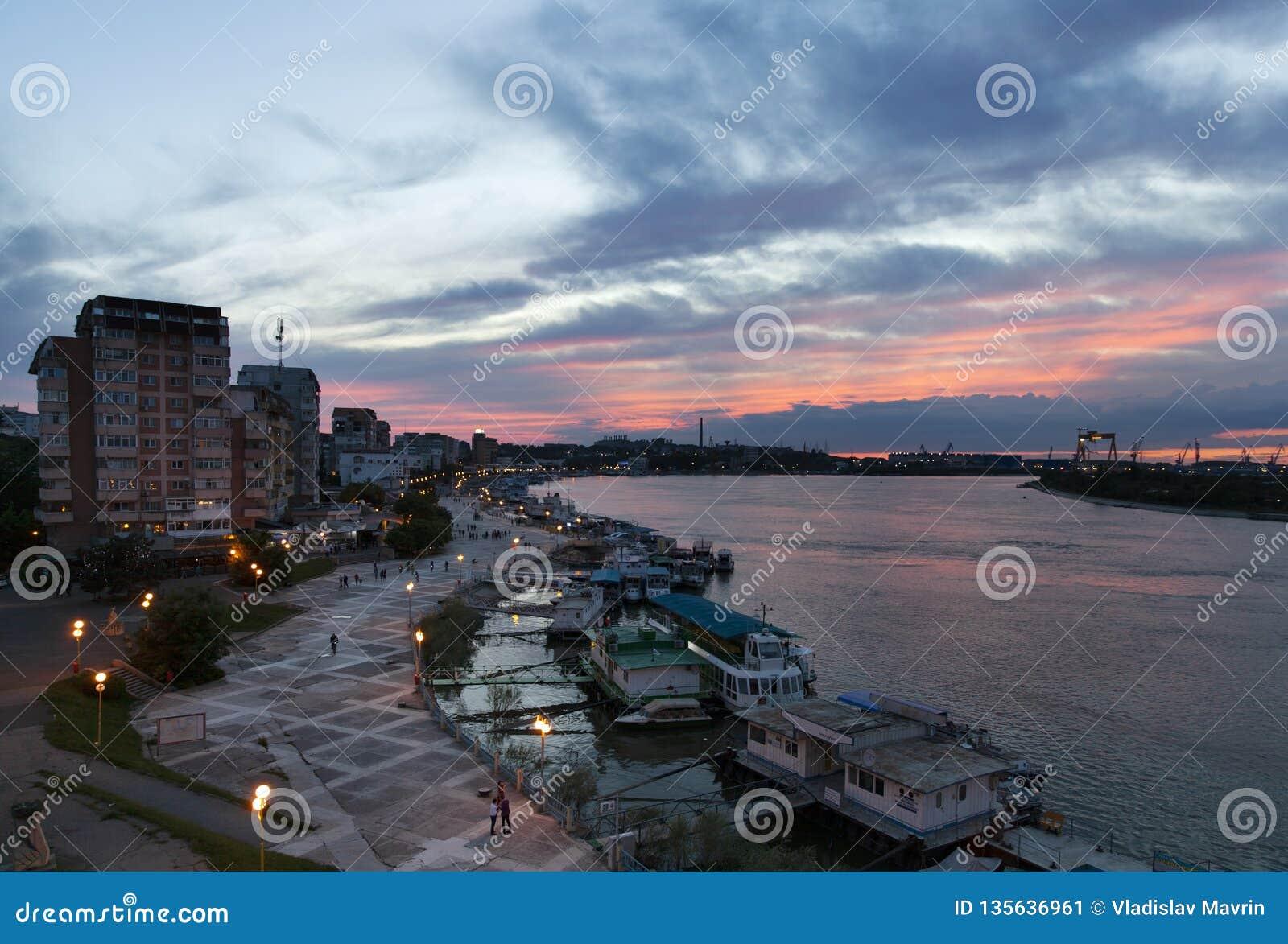 Tulcea port, Donaudelta