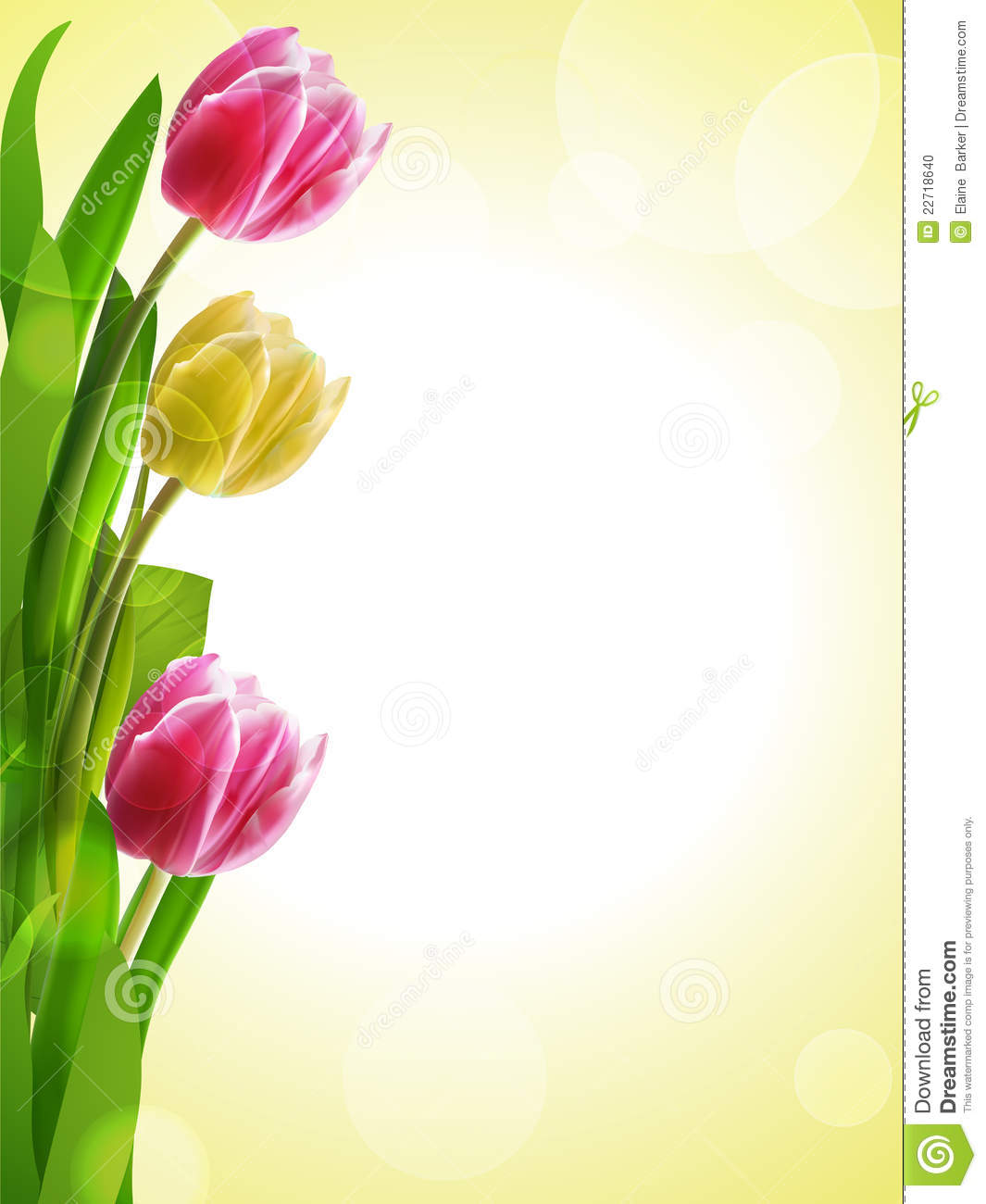 More similar stock images of ` Tulip background yellow and pink `