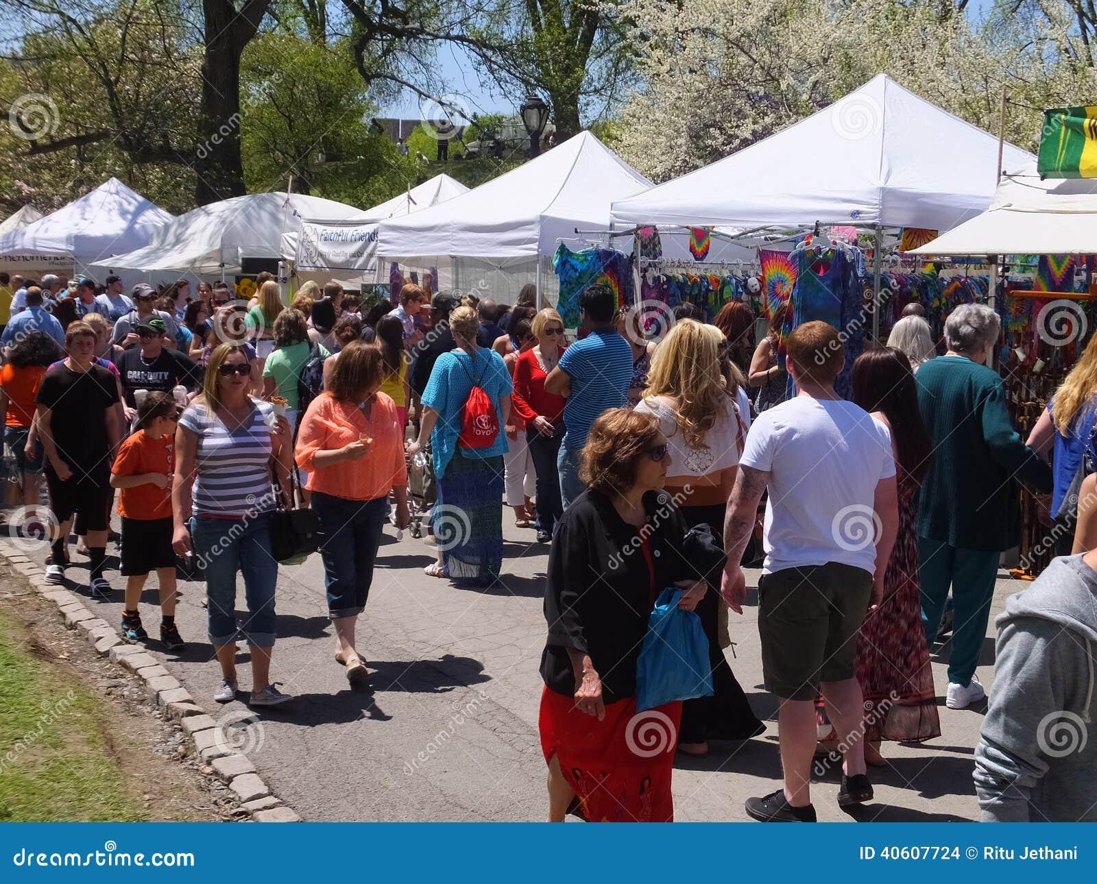 Tulip Festival in Albany, New York State