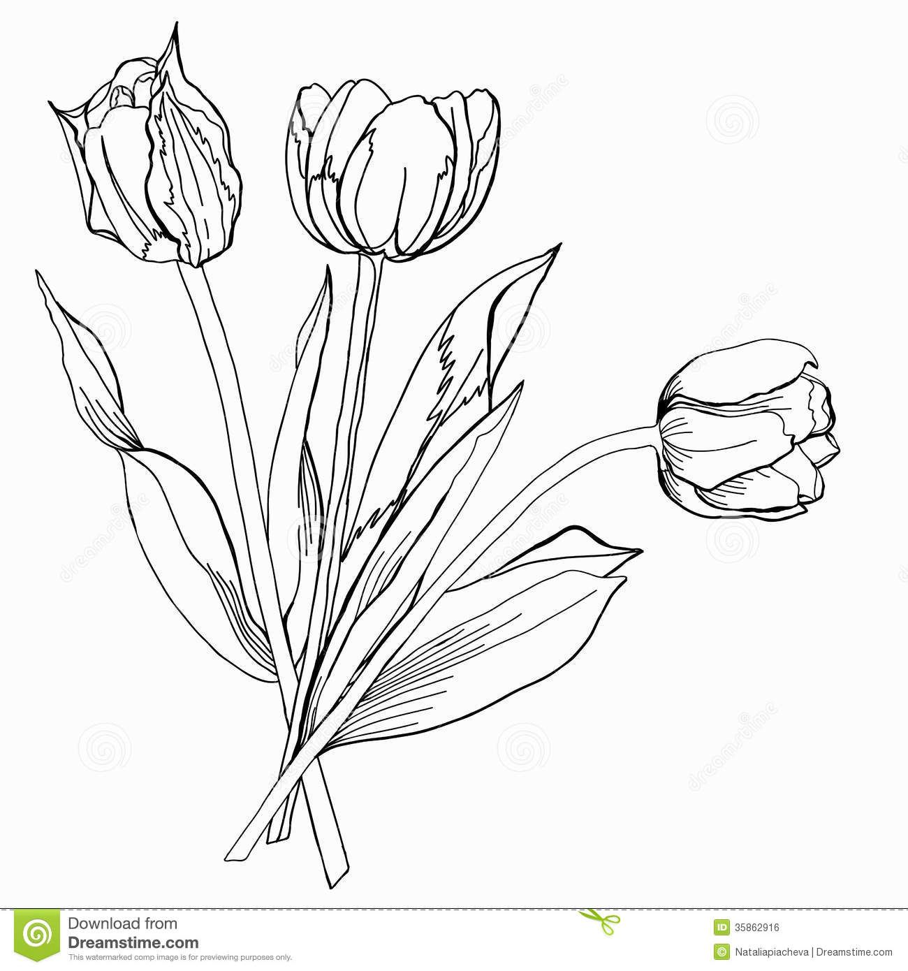 Rose vase coloring pages