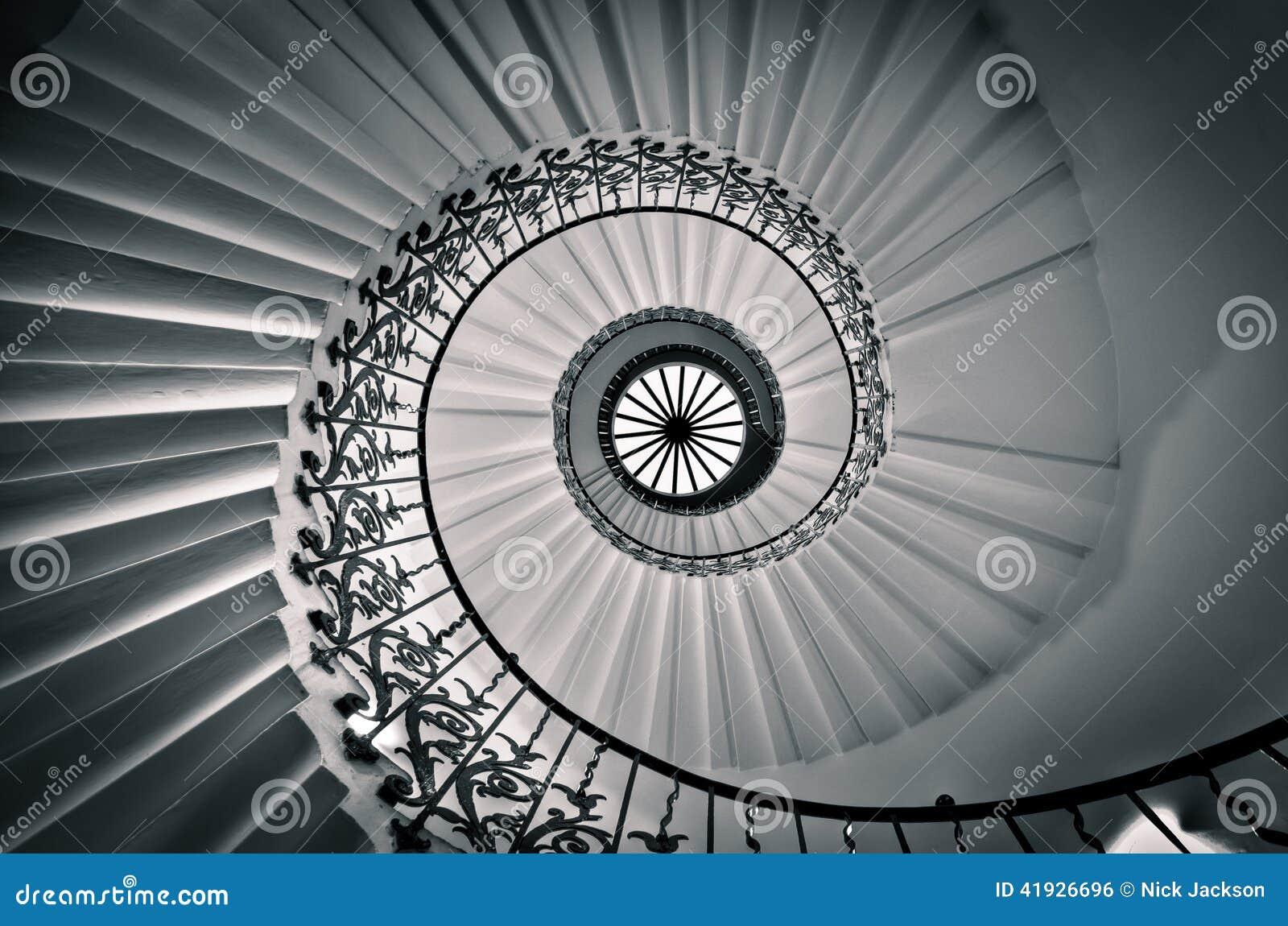 Tulip Staircase, a casa da rainha