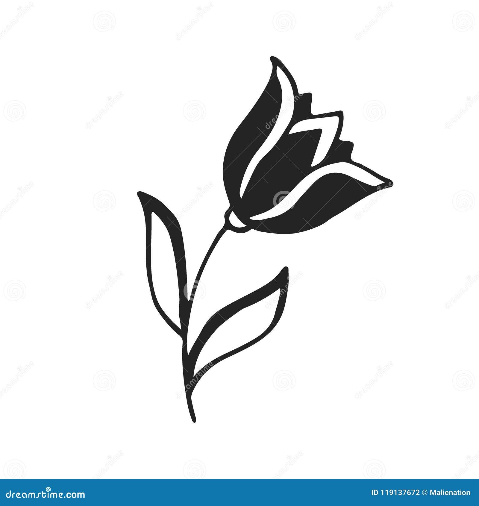 Tulip Tattoo Stock Illustrations 2 109 Vectors Clipart Dreamstime