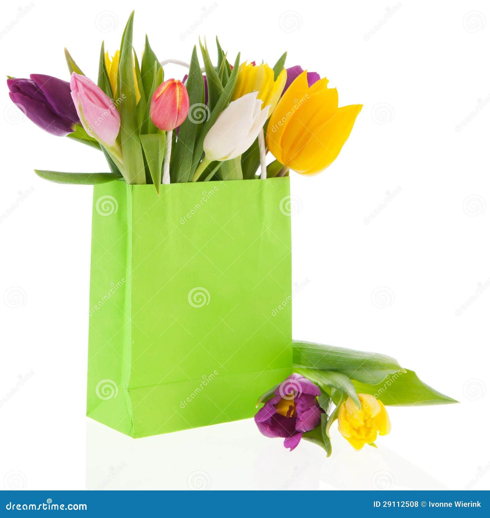 borsa tulipani