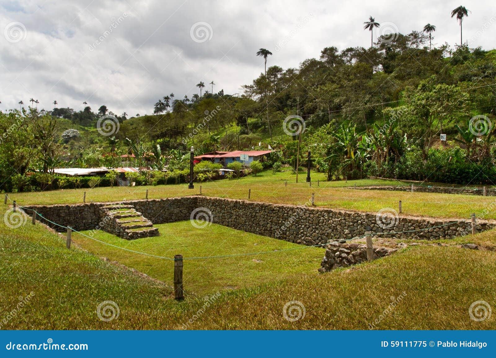Tulipe考古学站点博物馆,厄瓜多尔