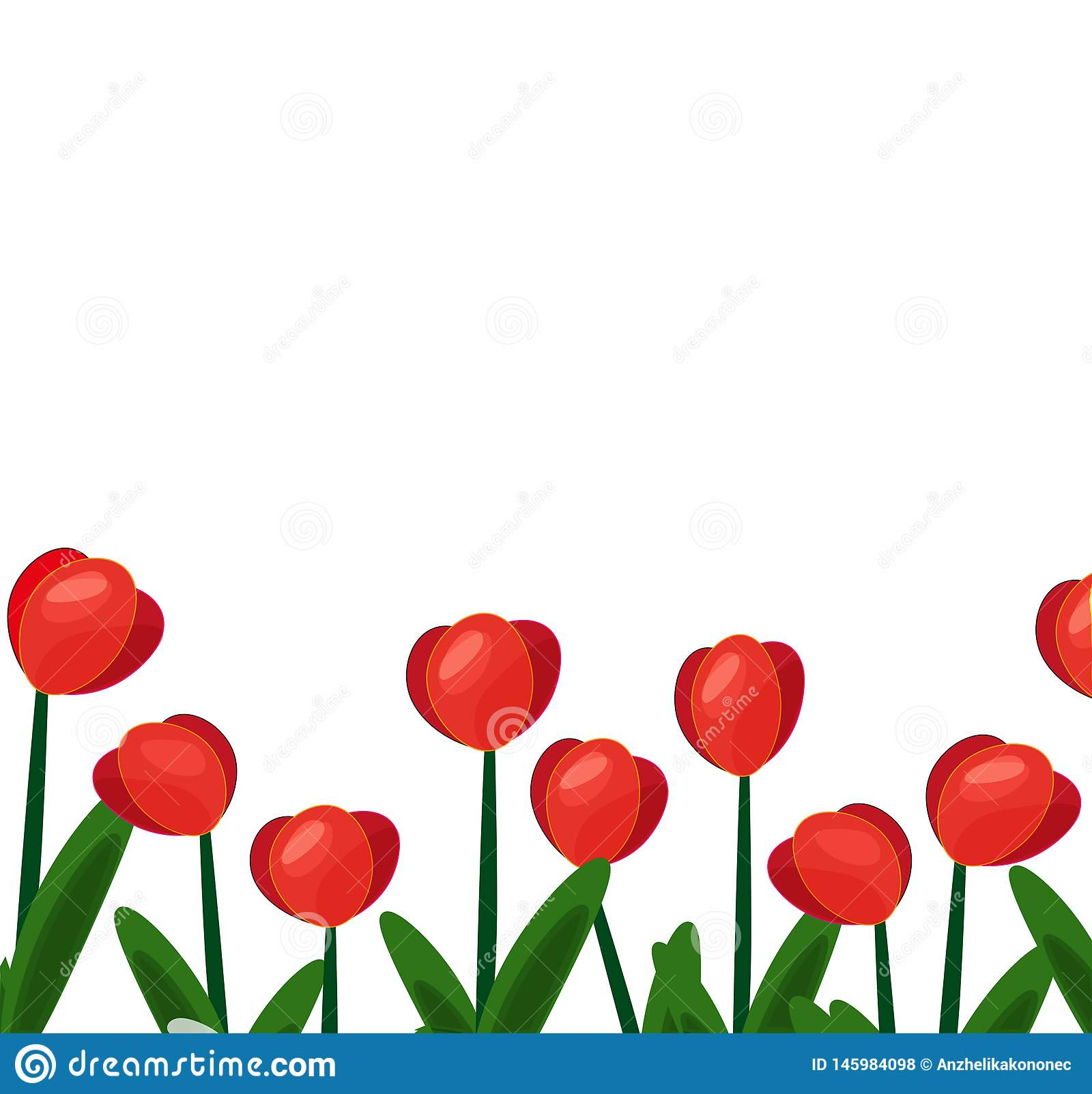 Tulipes background-01 rouge