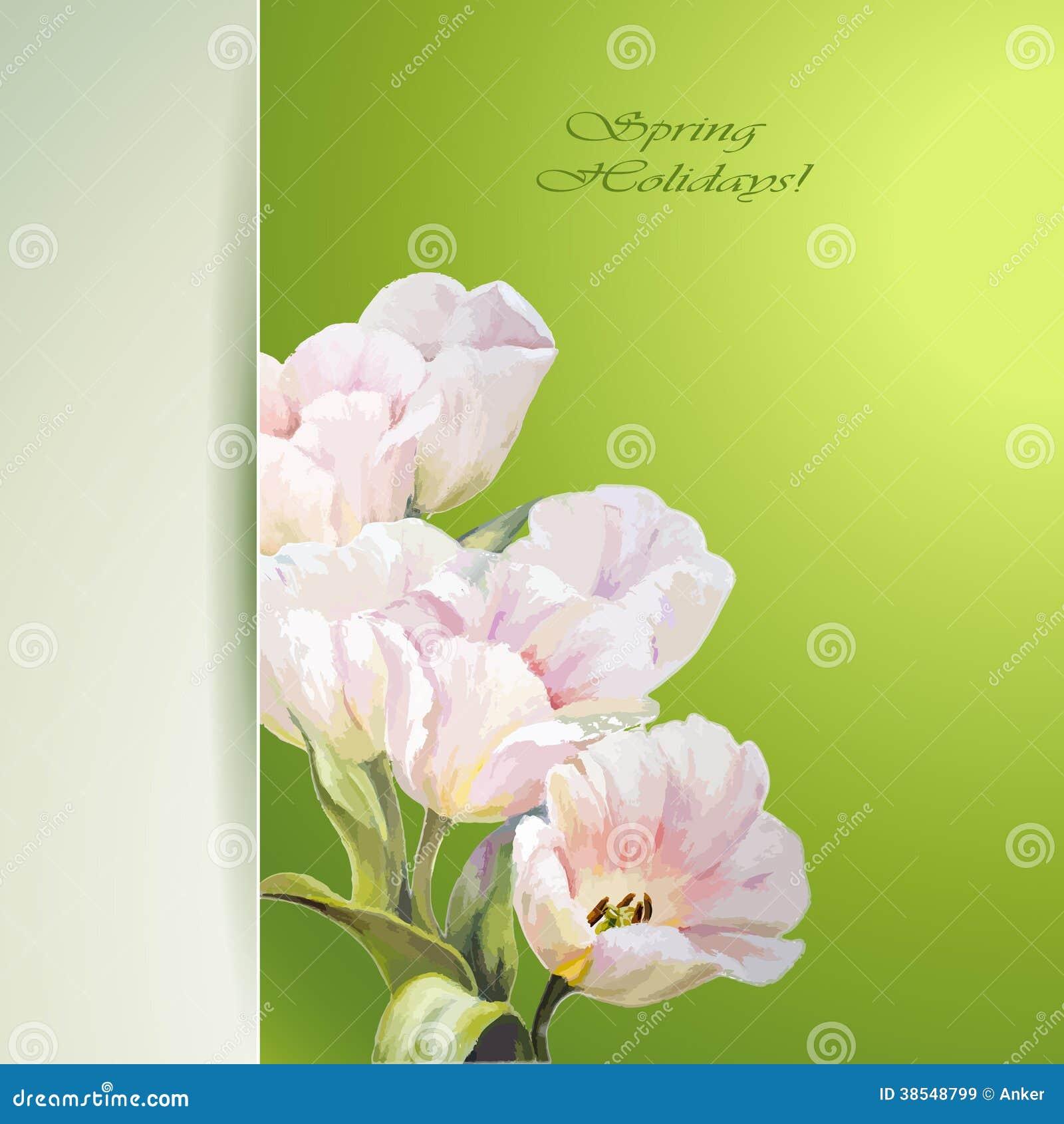 spring invitation template
