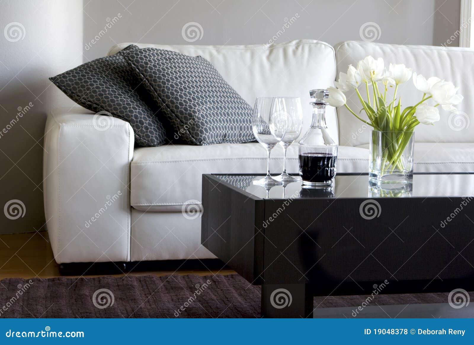 Groovy Tulips And Wine In Modern Living Room Stock Photo Image Of Inzonedesignstudio Interior Chair Design Inzonedesignstudiocom