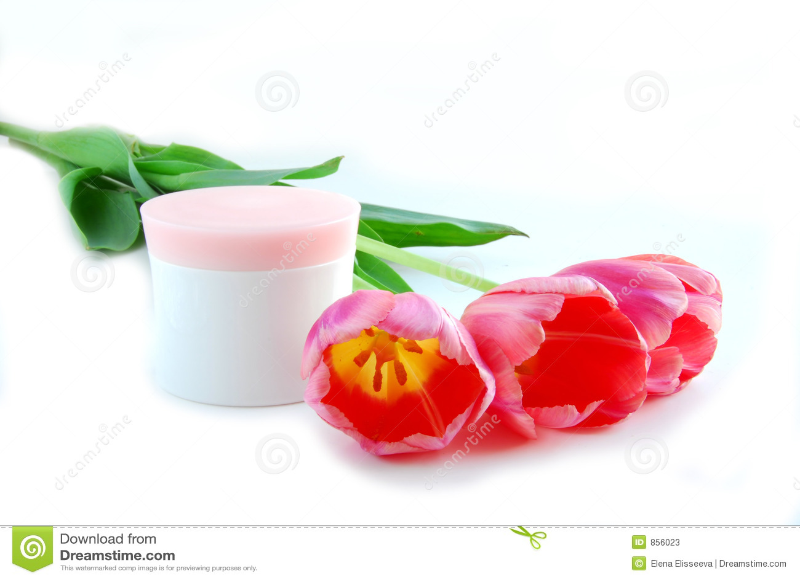 Tulpen en room