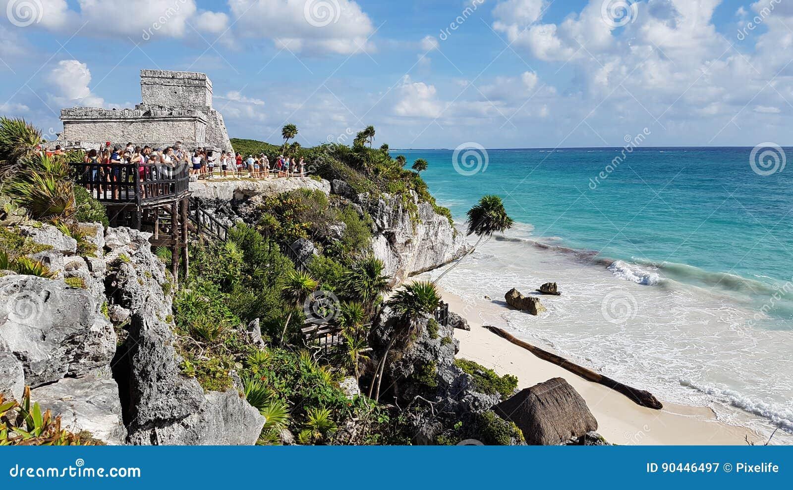 Tulum του Μεξικού παραλιών