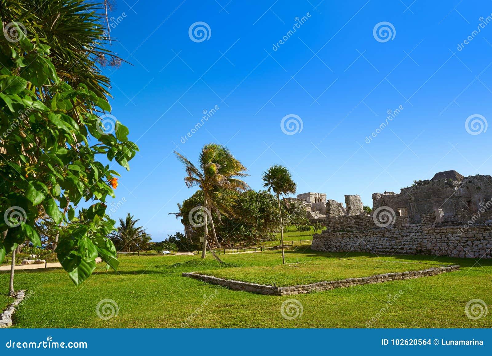 Tulum Mayan city ruins in Riviera Maya