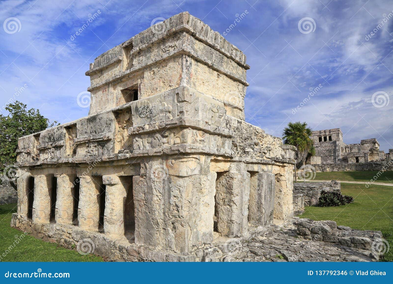 Tulum ruins of Maya Civilization, Yucatan Peninsula