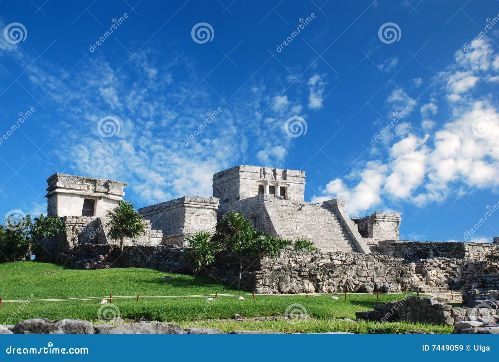 Tulum ruins in Mexico