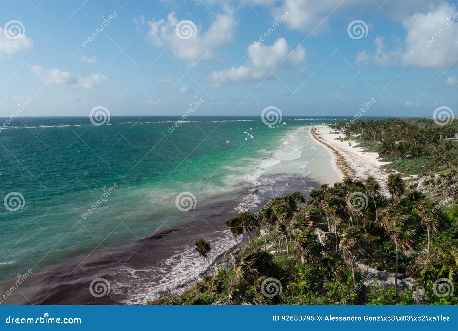 Tulum wybrzeże