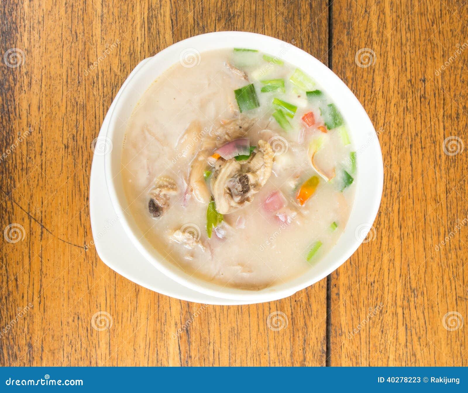 Tum kha kai еды тайский