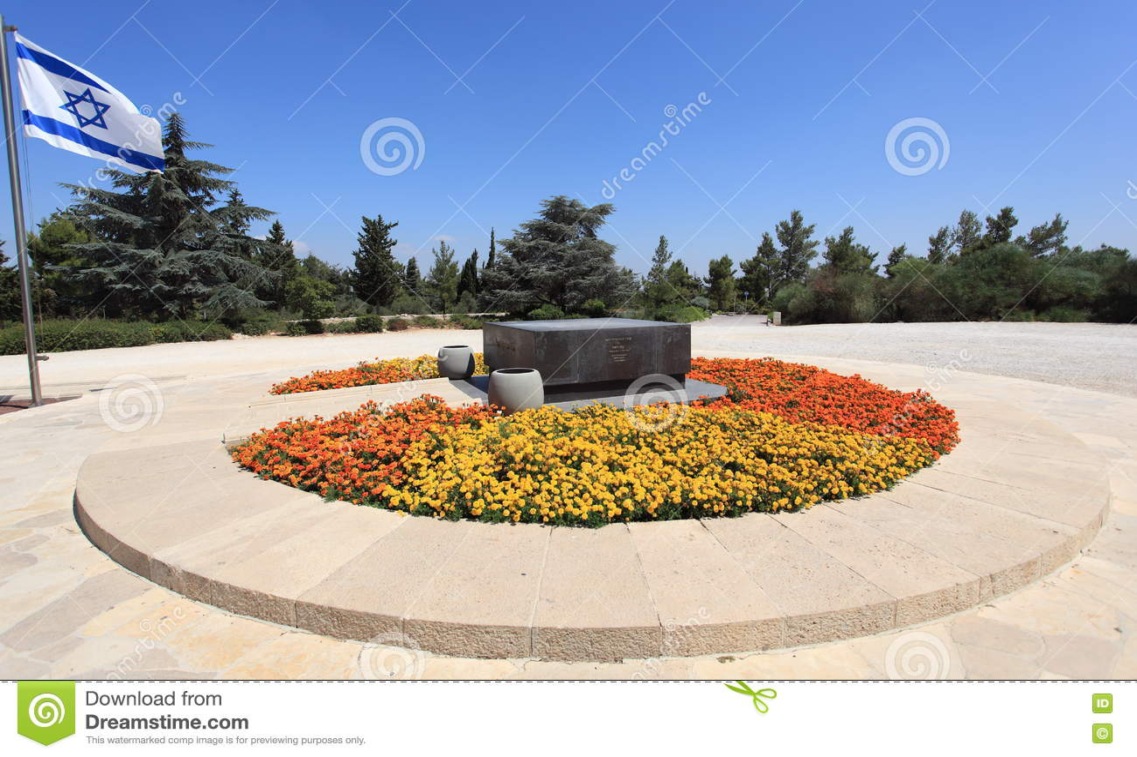 Tumba de Theodor Herzl en el monte Herzl