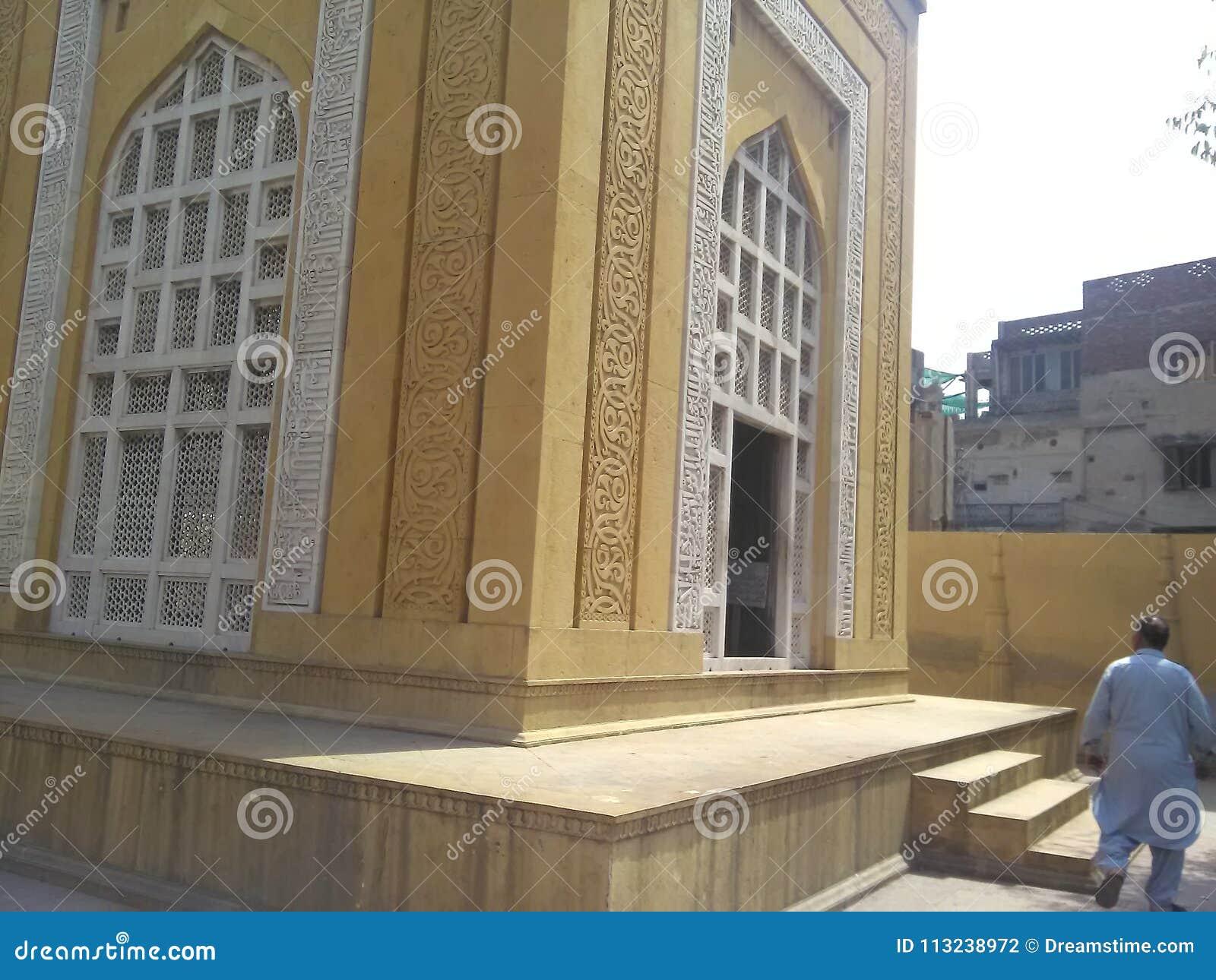 Tumba del dinar Aibak Lahore Paquistán del ud de Sultan Qutb