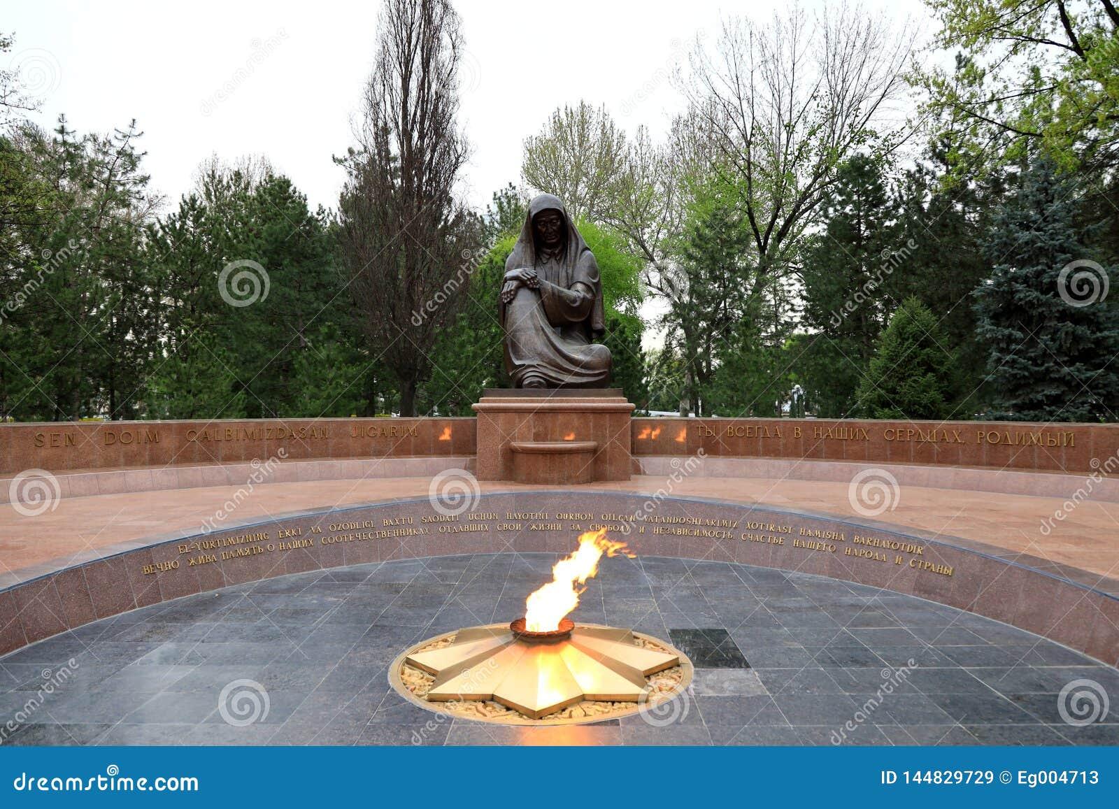 Tumba del soldado desconocido; Tashkent; Uzbekist?n