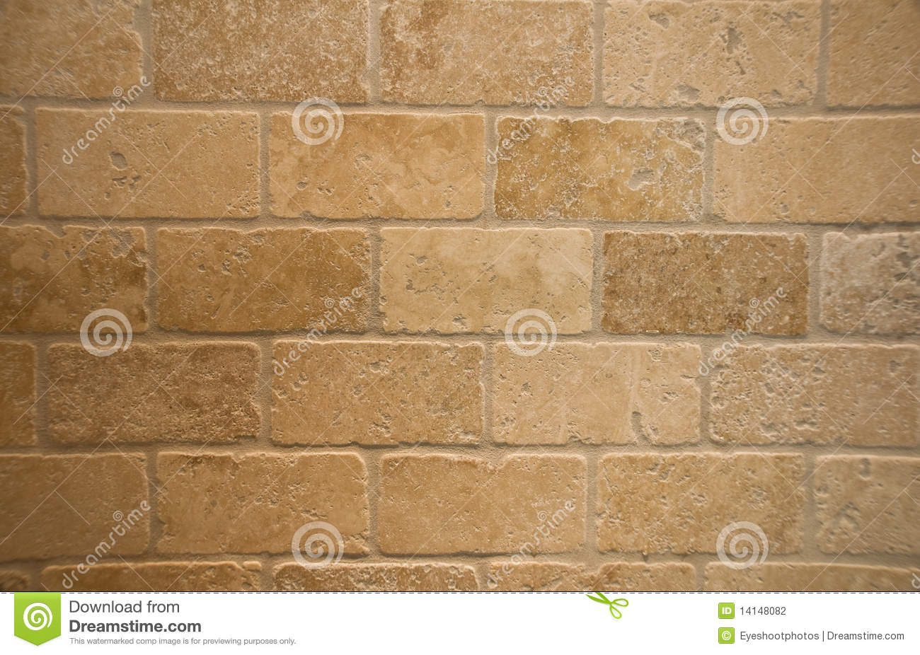 Tumbled Marble Bricks Stock Photography Image 14148082