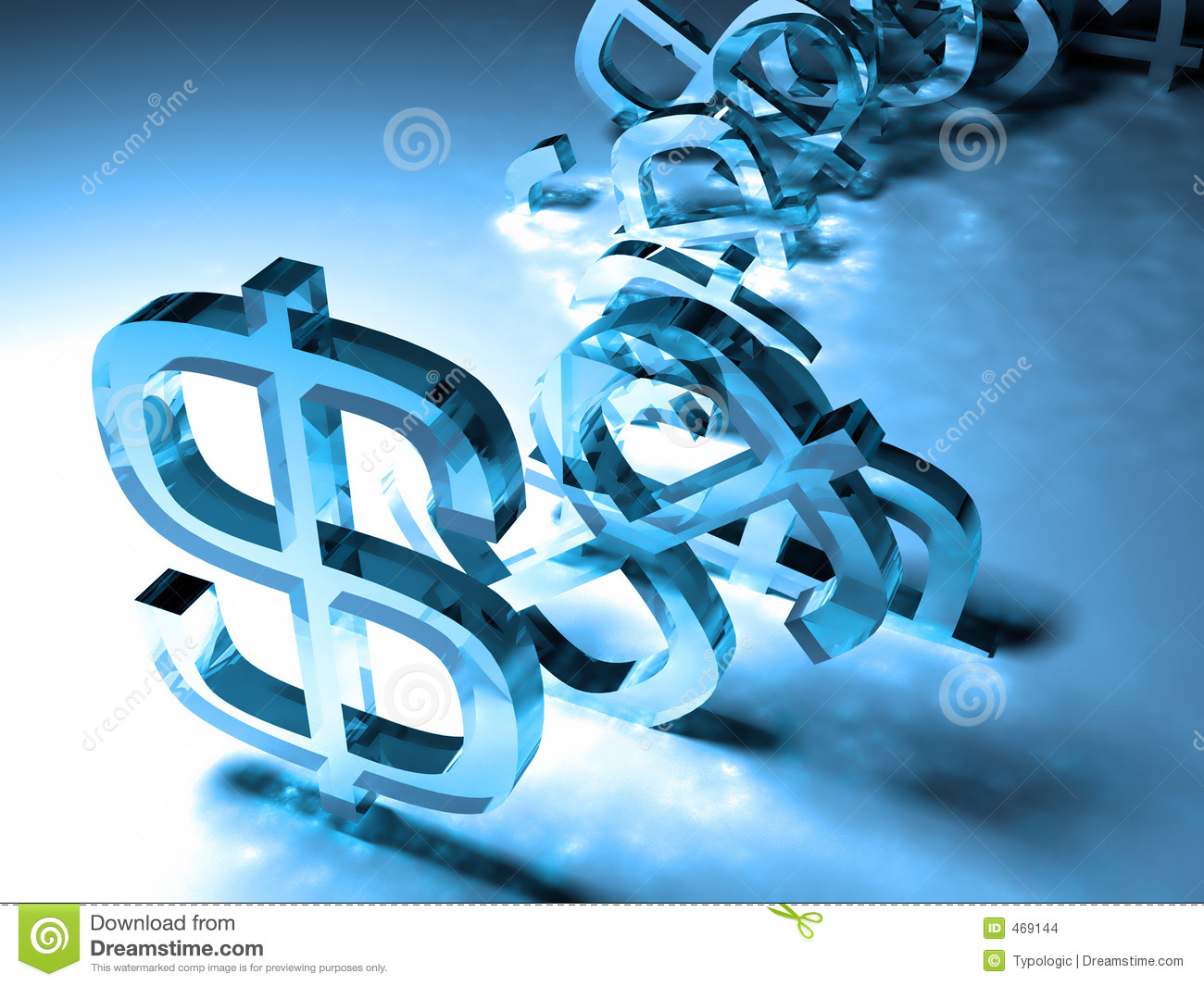 Download Tumbling dollar signs stock photo. Image of money, concept - 469144