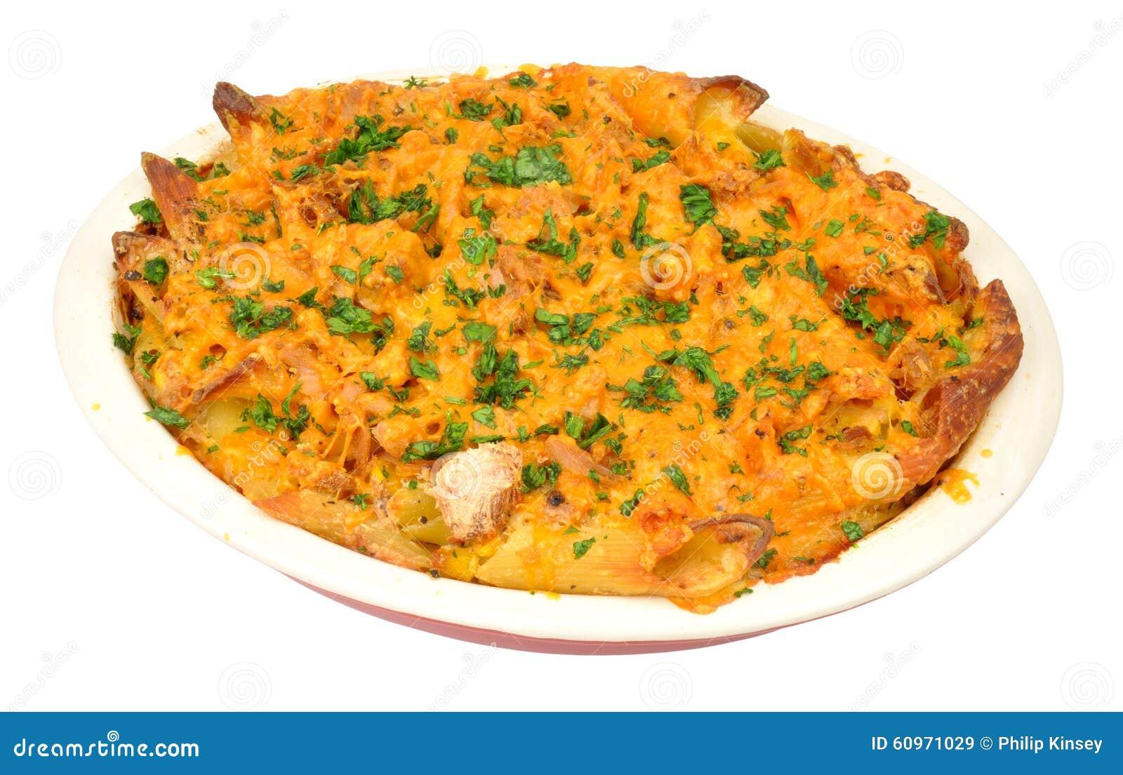 Tuna And Cheese Pasta Bake