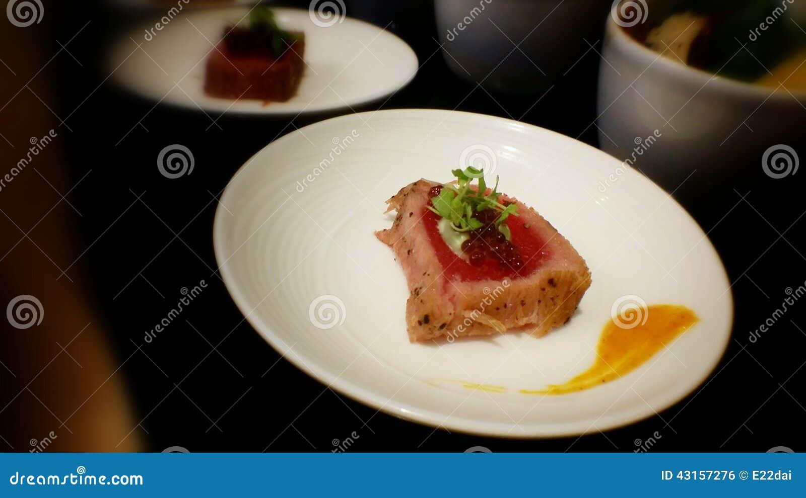 Tuna delicious photo stock image du thon casse cro te for Nourriture poisson rouge super u