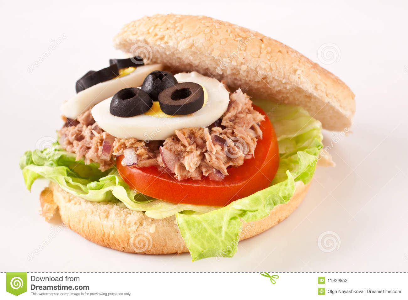 Tuna and egg sandwich stock photography image 11929852 for Tuna and egg sandwich
