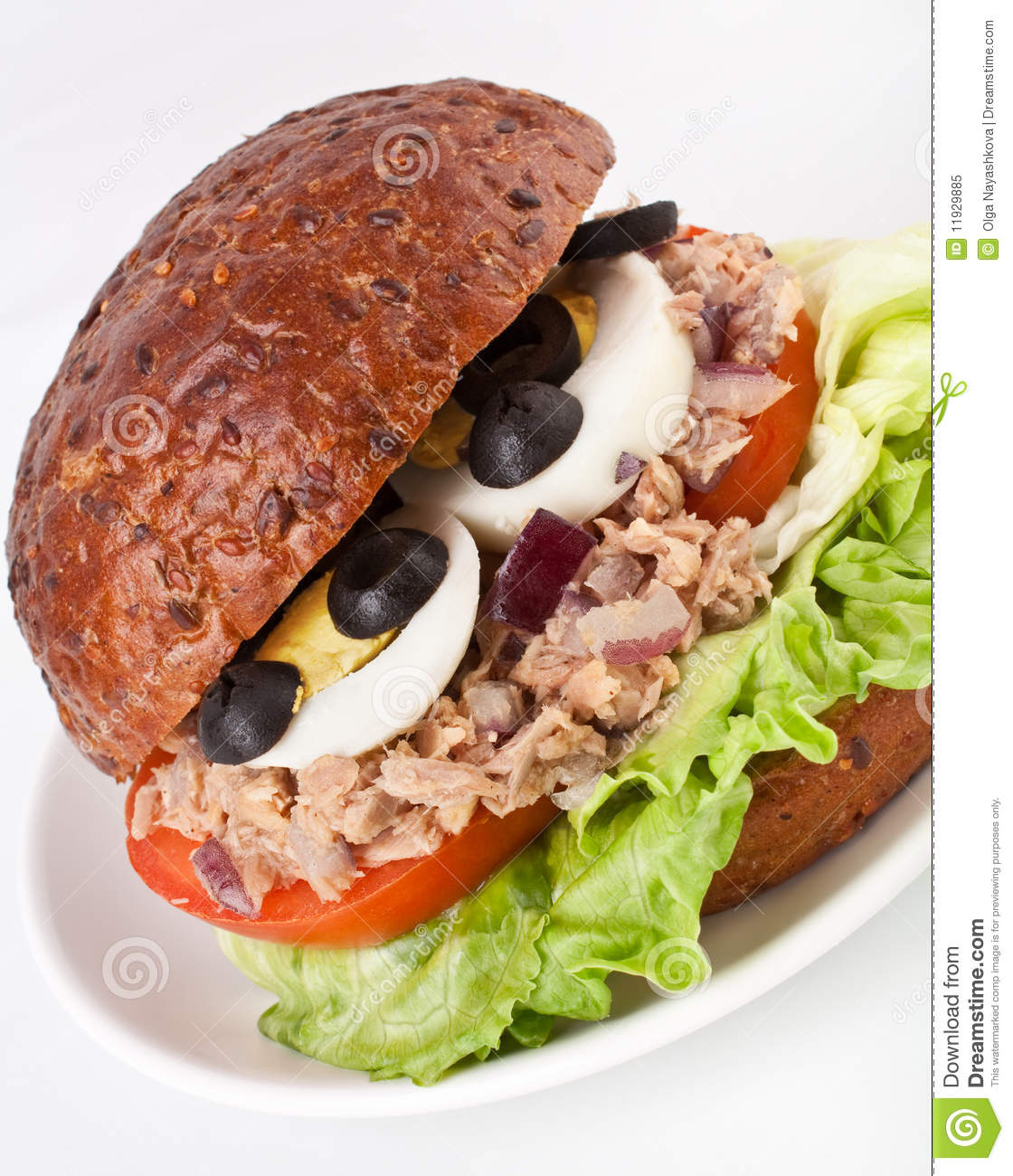 Tuna and egg sandwich royalty free stock photo image for Tuna and egg sandwich