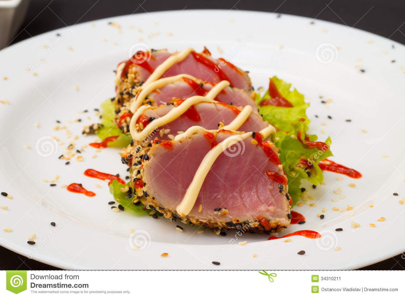how to cook tuna fillet