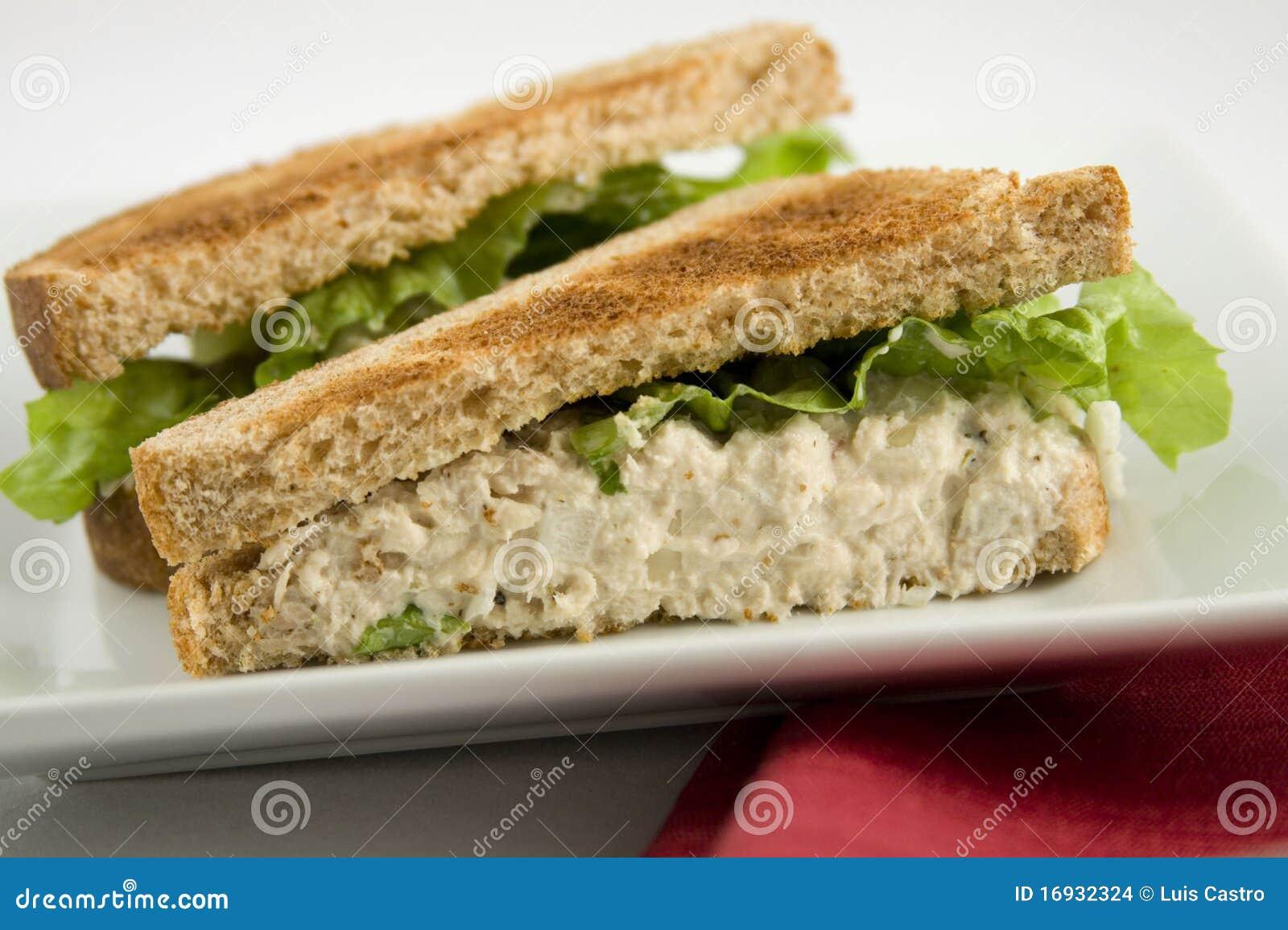Tuna fish sandwich stock images image 16932324 for Tuna fish sandwich