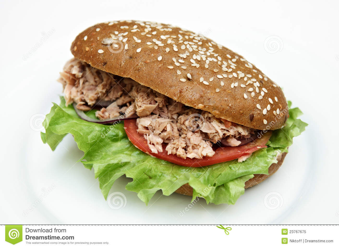 Tuna Salad Sandwich Royalty Free Stock Photo - Image: 23767675