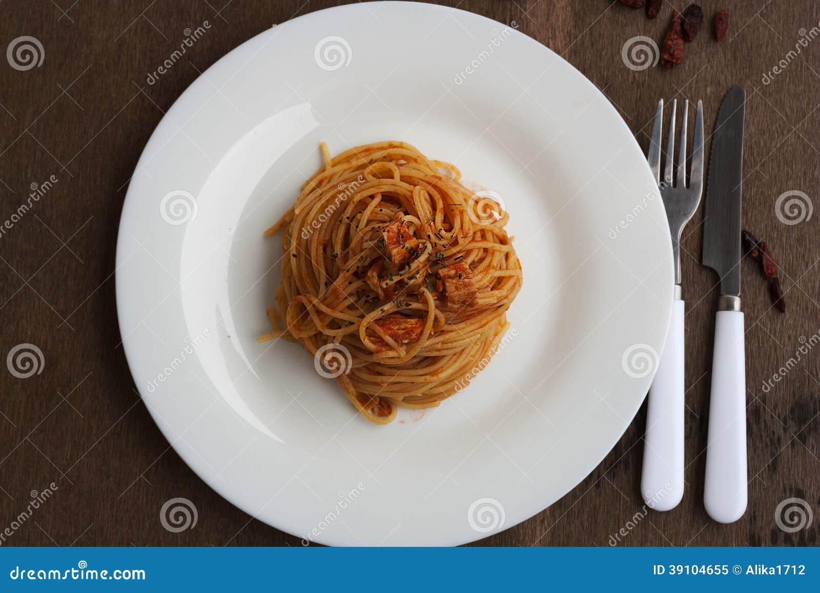 Tuna Spaghetti