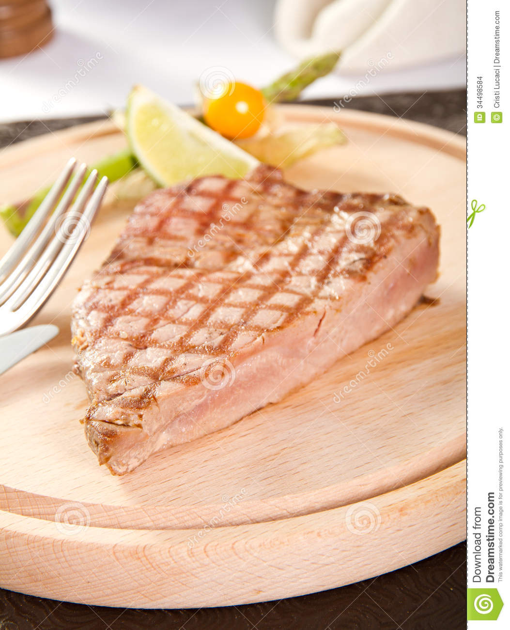 how to cook tuna steak rare