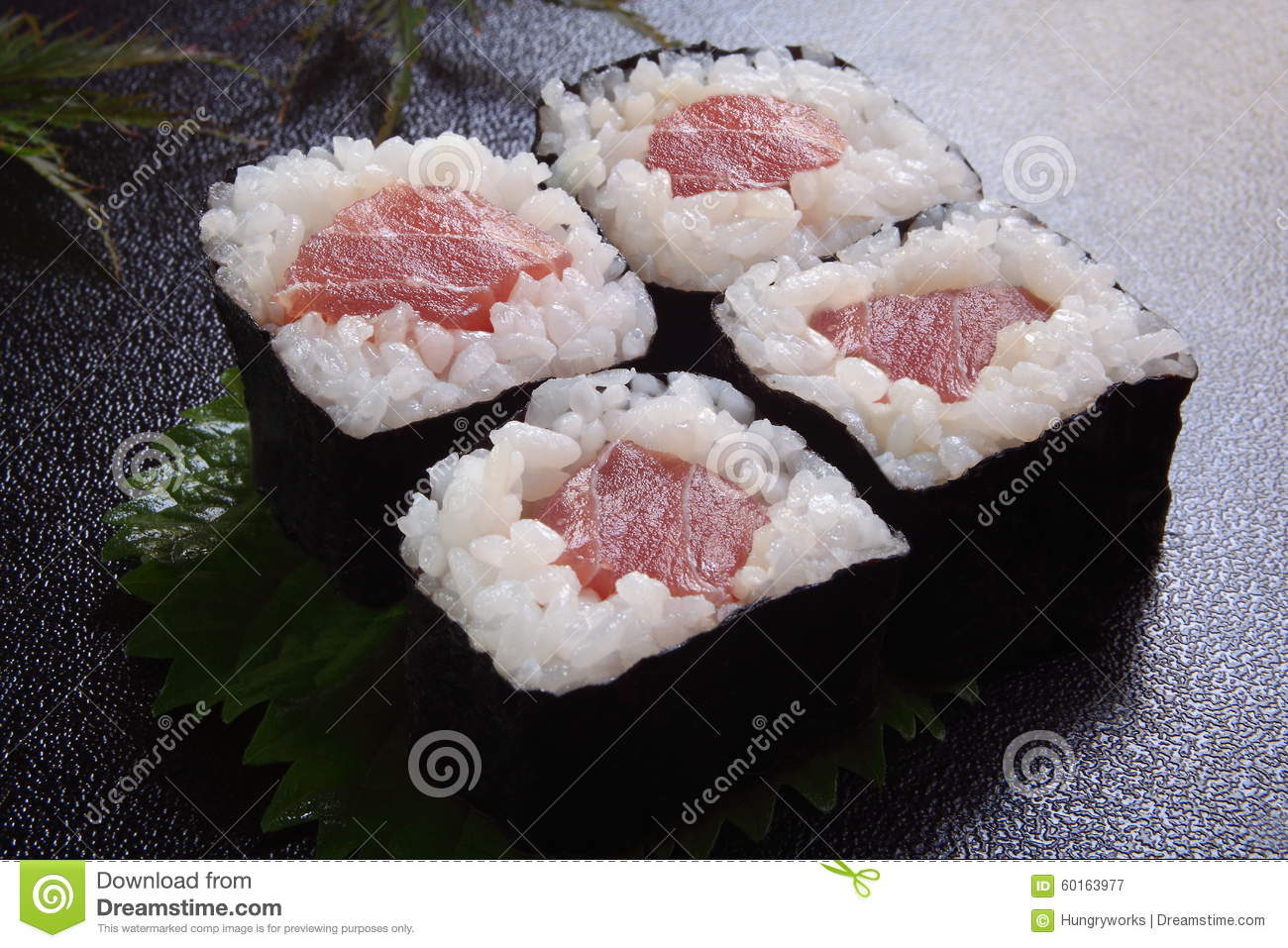 how to prepare tuna for sushi