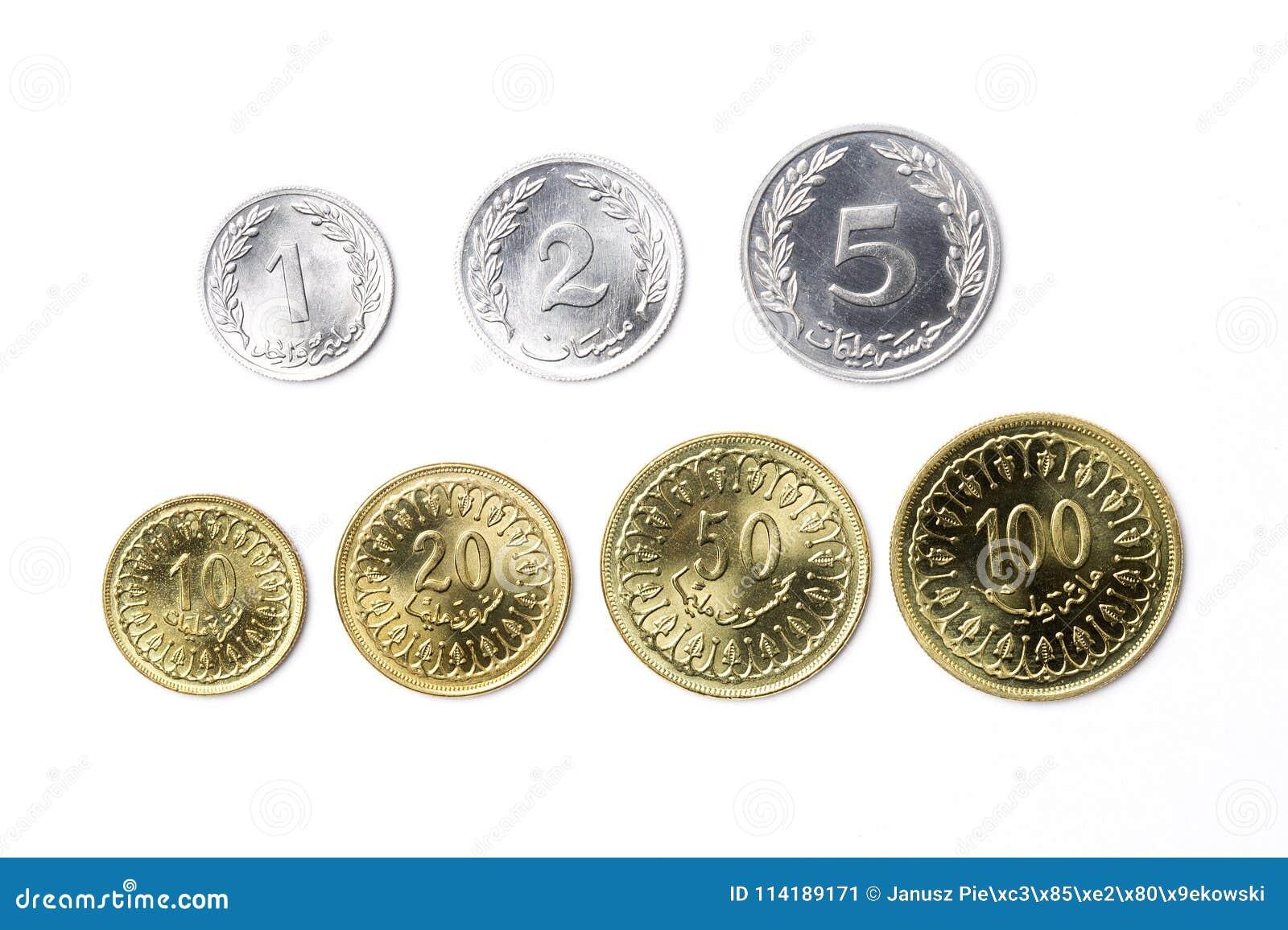 Tunesischer Dinar Stockbild Bild Von Tunesisch Geschäft 114189171